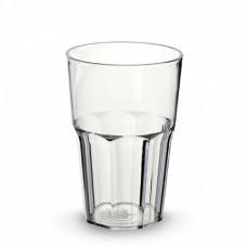 50x CAIPIRINHAGLÄSER Mehrweg aus Kunststof 0,34l Glasklar